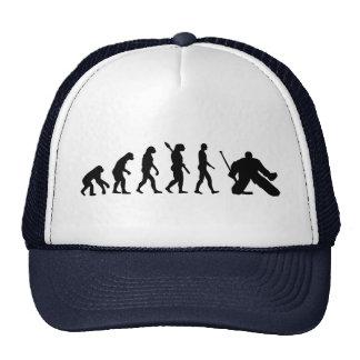 Hockey del portero de la evolución gorro de camionero