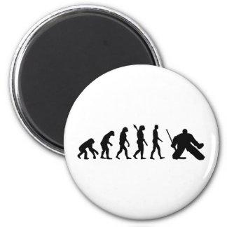 Hockey del portero de la evolución imán redondo 5 cm