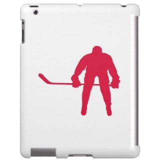 Hockey del rojo carmesí