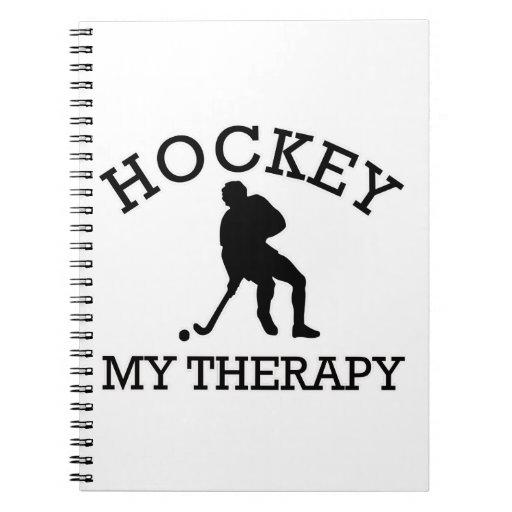 hockey design note book