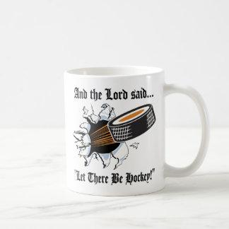 Hockey divertido taza de café