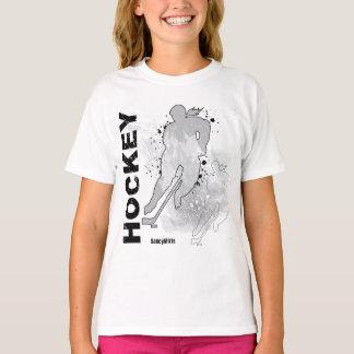 Hockey doble de los chicas de Vision Camisas