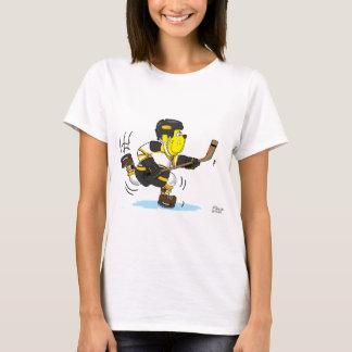 HOCKEY DOG BLACK AND GOLD T-Shirt