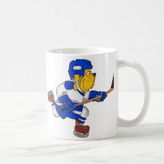 Hockey Dog Coffee Mug