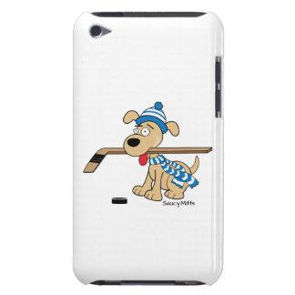 Hockey Dog iPod Case-Mate Case