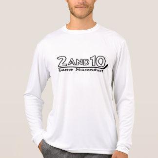 Hockey Dry Wear Long Sleeve White Shirt