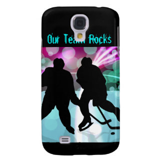 Hockey Duo Face Off Galaxy S4 Cover