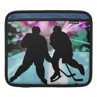 Hockey Duo Face Off Sleeve For iPads