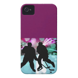 Hockey Duo Face Off iPhone 4 Case-Mate Case