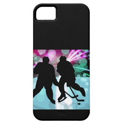 Hockey Duo Face Off iPhone 5 Cover