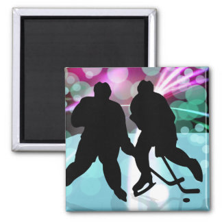 Hockey Duo Face Off Magnet