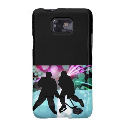 Hockey Duo Face Off Samsung Galaxy SII Cases