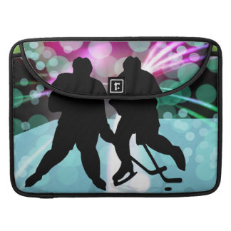 Hockey Duo Face Off Sleeve For MacBook Pro