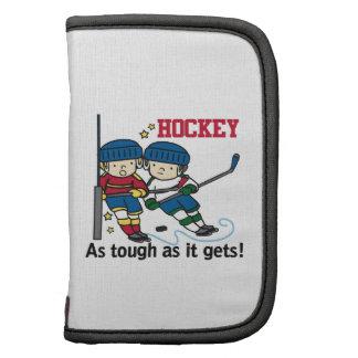 Hockey duro planificadores