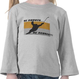 Hockey ¡Él lo tira… anota Camisetas
