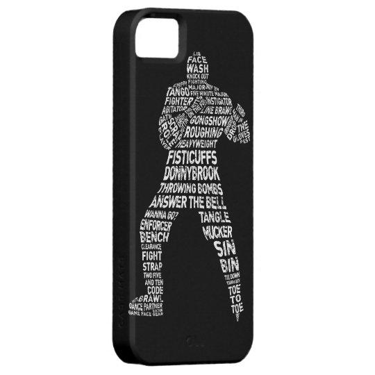 Hockey Enforcer Goon iPhone 5 Case