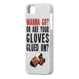 Hockey Enforcer Wanna Go iPhone SE/5/5s Case