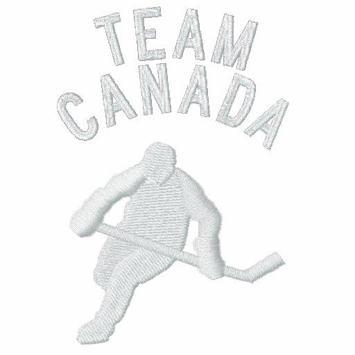 Hockey, equipo Canadá - personalizable Sudadera Con Capucha