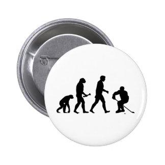 Hockey Evolution Pinback Buttons