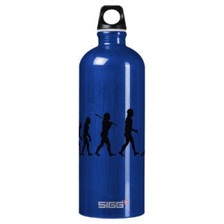 Hockey Evolution Fun Sports Aluminum Water Bottle