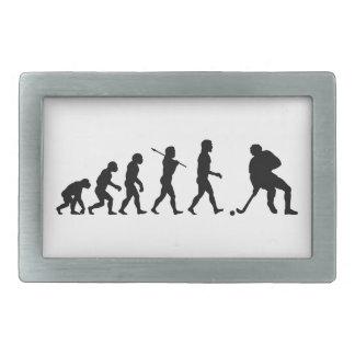 Hockey Evolution Fun Sports Belt Buckle