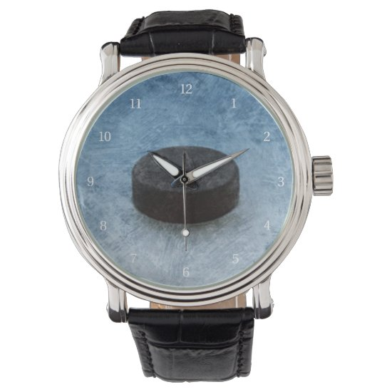 Hockey Face-off Wrist Watch