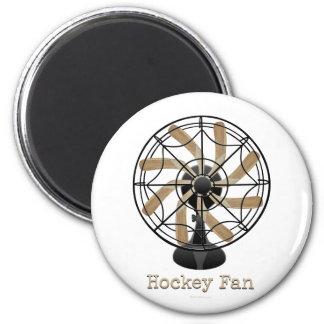 Hockey Fan (#1) 2 Inch Round Magnet