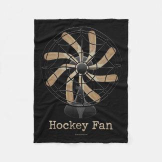 Hockey Fan Fleece Blanket