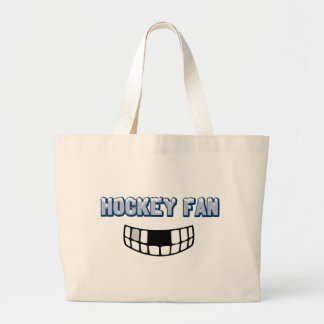 Hockey Fan Large Tote Bag