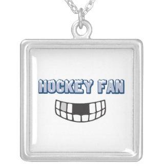 hockey fan missing teeth funny sports design pendants