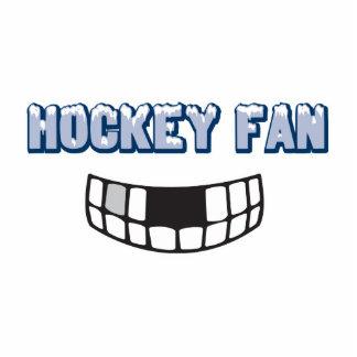 hockey fan missing teeth funny sports design photo cut outs