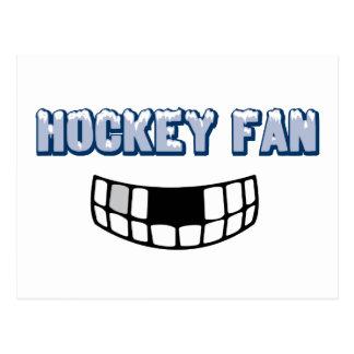 Hockey Fan Postcard