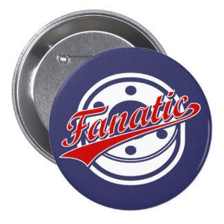Hockey Fanatic Pinback Button