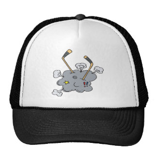 Hockey Fight Mesh Hats