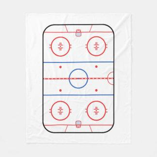 Hockey Game Companion Autograph Ready Fleece Blanket