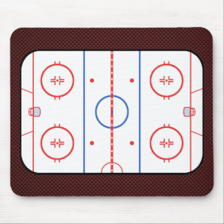 Hockey Game Companion Autograph Ready Mouse Pad