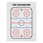 Hockey Game Event Poster