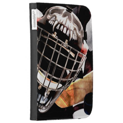Hockey Gear Grunge Style Kindle Covers