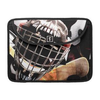 Hockey Gear Grunge Style Sleeve For MacBooks