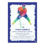 Hockey Geometrics Invitation