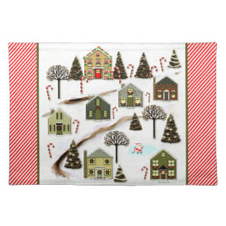 hockey gift ideas cloth placemat