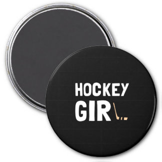 Hockey Girl Magnet