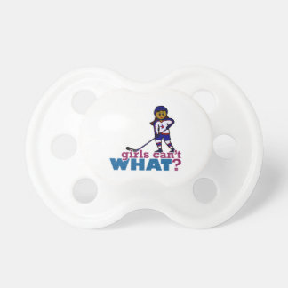Hockey Girl Pacifier