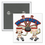 Hockey Girls Pins
