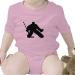 Hockey - Goalie Baby Bodysuit