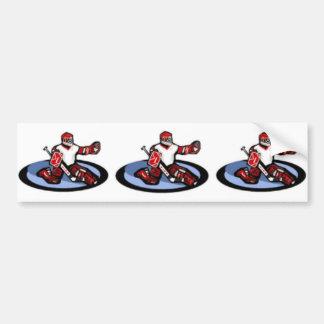 Hockey Goalie Bumper Stickers