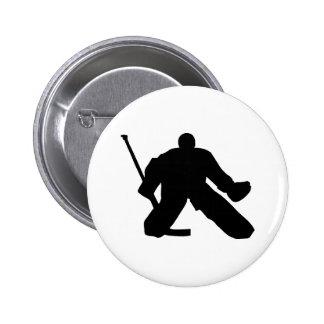 Hockey - Goalie 2 Inch Round Button