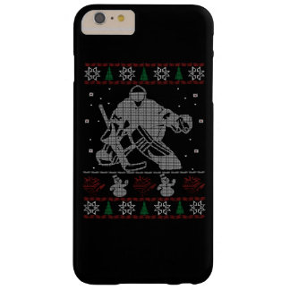 Hockey Goalie Christmas Barely There iPhone 6 Plus Case