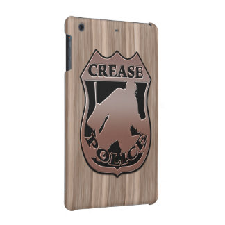 Hockey Goalie Crease Police iPad Cover