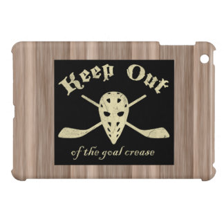 Hockey Goalie Goal Crease iPad Cover